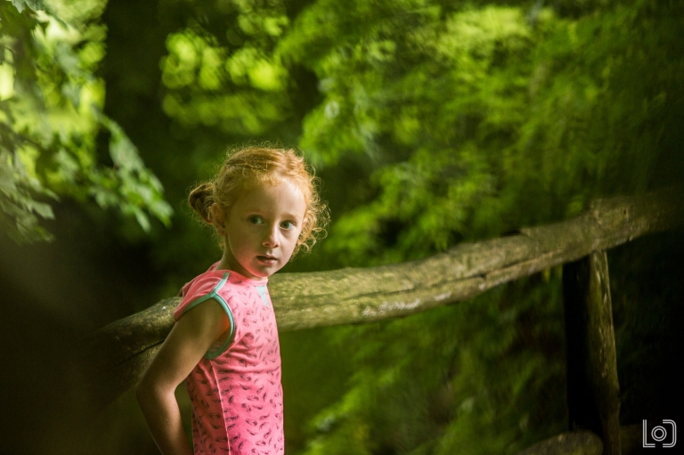 Gezinsshoot in het bos bij Hemmen