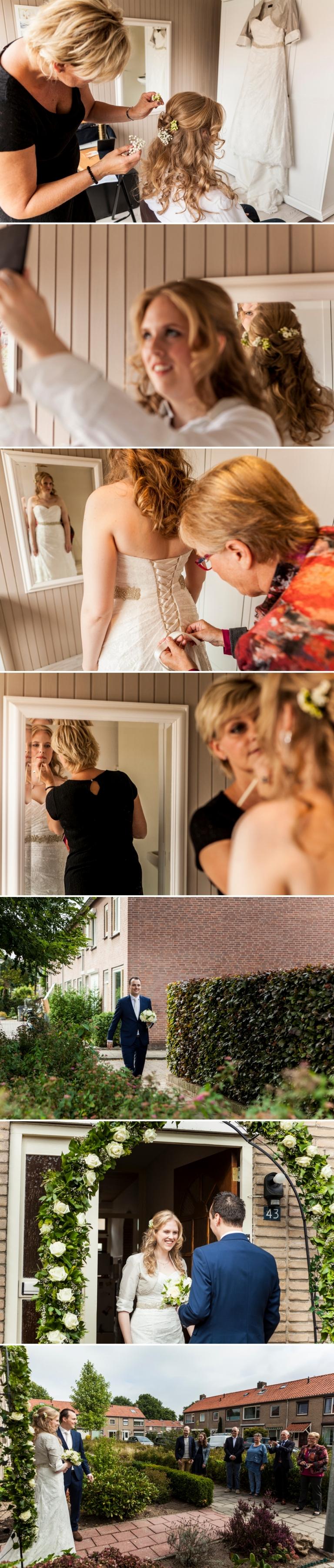 Journalistieke bruidsfotografie Appeltern Nijmegen Wijchen